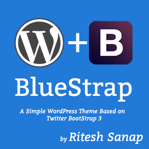 BlueStrap - WordPress Theme
