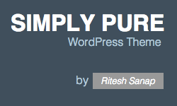 Simply Pure - WordPress Theme