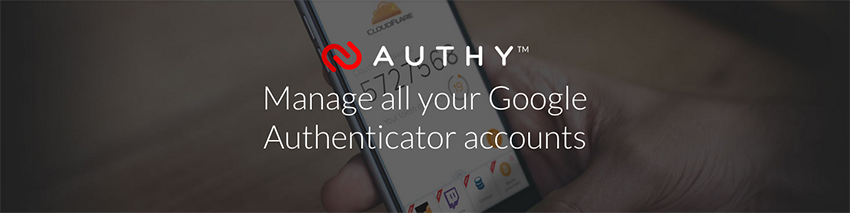 Authy to Manage all your Google Authenticator accounts
